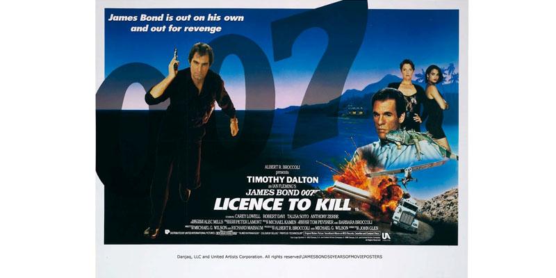 Licence To Kill: James Bond